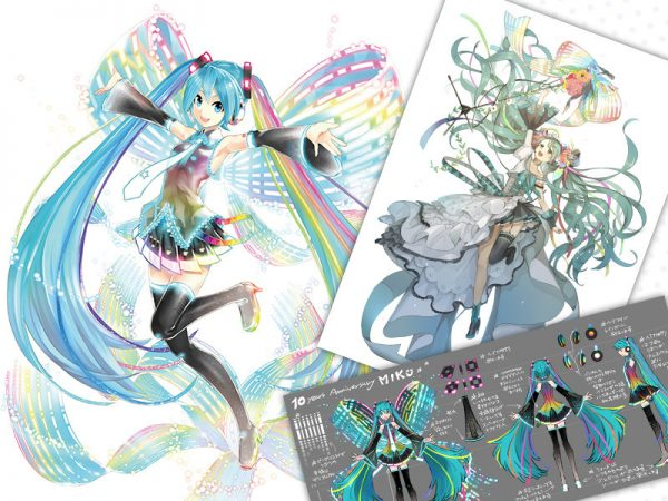 Hatsune Miku- 10th Anniversary Ver. Memorial Box 07