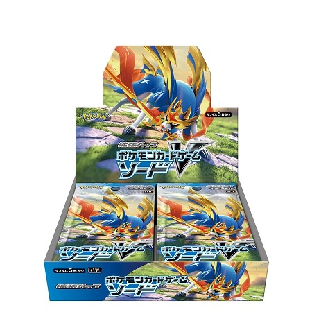 Pokemon Card Game Sword & Shield Expansion Pack Sword