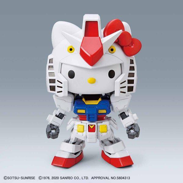 Hello Kitty Rx-78-2 Gundam 6