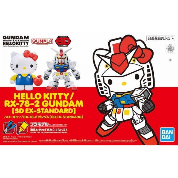 Hello Kitty Rx-78-2 Gundam